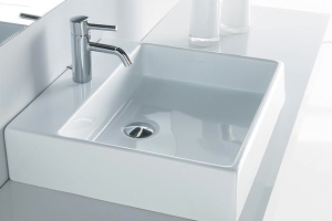BOX 50 COUNTER BASIN WITH TAP HOLE
