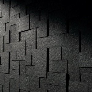 marazzi monolith black decoro 30 x 60